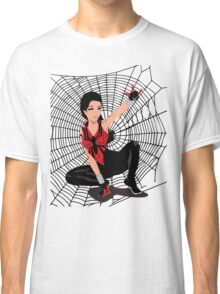 Amy Winehouse Spider Woman Classic T-Shirt