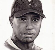 Tiger Woods by Pencilworks