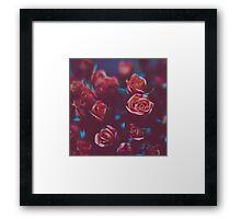 Botánico Oscuro Framed Print