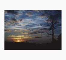 Sunset: Blue Glow Kids Tee