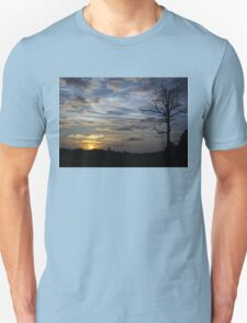 Sunset: Blue Glow T-Shirt