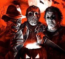 Halloween Scream Team by Scott Jackson