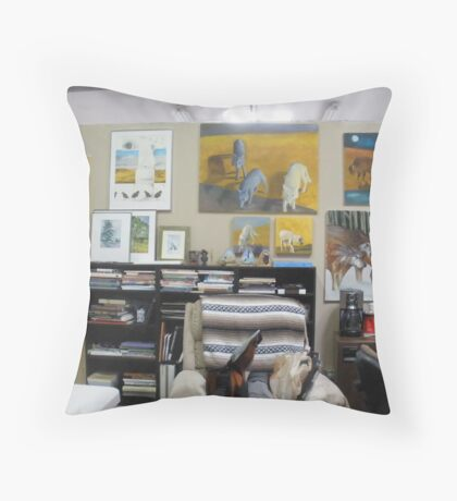 my studio 3 Throw Pillow