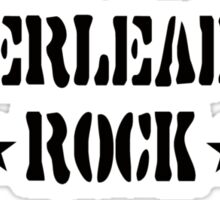 Cheerleaders Rock Sticker