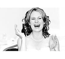 The Wedding Speech Photographic Print