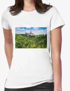 Ksiaz Castle Womens Fitted T-Shirt