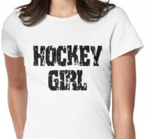 Hockey Girl Womens Fitted T-Shirt