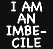 Dismaland I am an imbecile balloon shirt by fandemonium