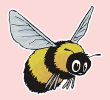 Happily Bumbling Bumble Bee Kids Tee