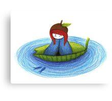 acorn hat Canvas Print