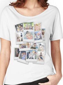 Fairy Tail: Polaroid Collage Women's Relaxed Fit T-Shirt