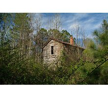Spring Shed Photographic Print