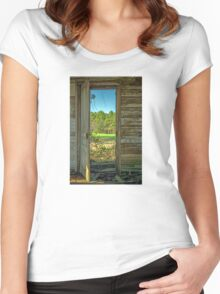 When One Door Closes, Another Opens Women's Fitted Scoop T-Shirt