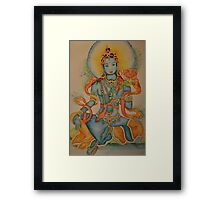 Green Tara: Goddess of Compassion Framed Print