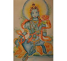 Green Tara: Goddess of Compassion Photographic Print