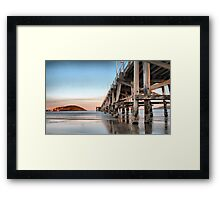 Coffs Harbour Jetty HDR Framed Print