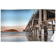 Coffs Harbour Jetty HDR Poster