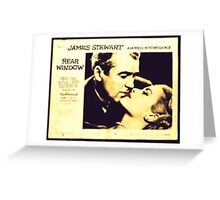 Rear Window - James Stewart and Grace Kelly Greeting Card