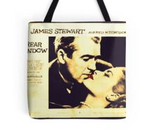 Rear Window - James Stewart and Grace Kelly Tote Bag