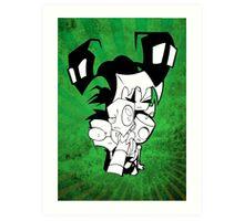 Invader Zim Art Print