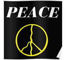 PEACE HAPPY PEOPLE Poster