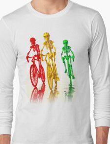 Bones on bikes tee and iphone case Long Sleeve T-Shirt