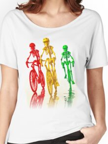 Bones on bikes tee and iphone case Women's Relaxed Fit T-Shirt