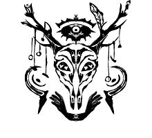 Deer Skull Ritual by WoundedHearts