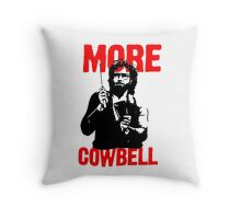 More Cowbell T-Shirt Throw Pillow