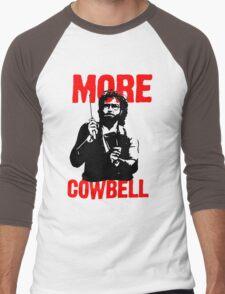 More Cowbell T-Shirt Men's Baseball ¾ T-Shirt