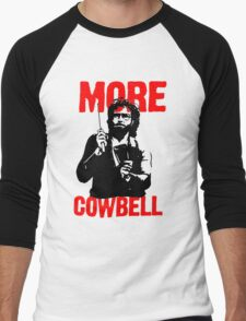 More Cowbell T-Shirt Men's Baseball ¾ T-Shirt