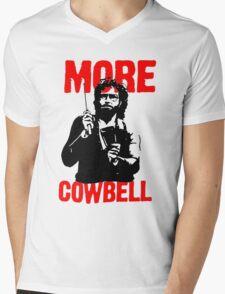 More Cowbell T-Shirt Mens V-Neck T-Shirt