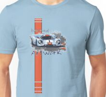 Gulf Porsche Motorsport Artwork Unisex T-Shirt