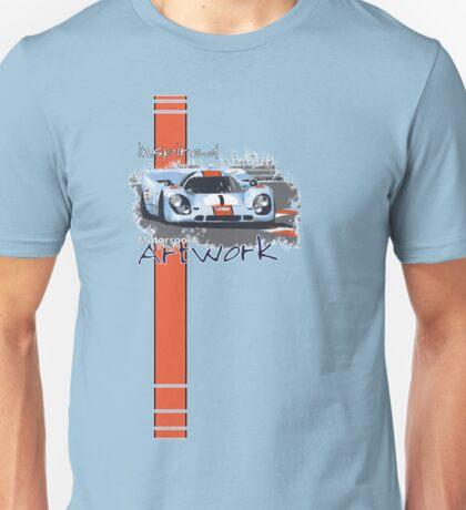Gulf Porsche Motorsport Artwork Unisex T-Shirt