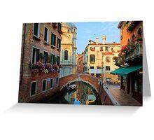 Magical Venice Greeting Card