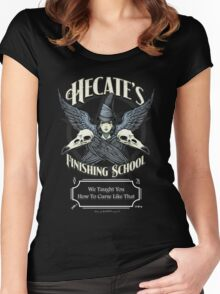 Hecate's Finishing School Women's Fitted Scoop T-Shirt