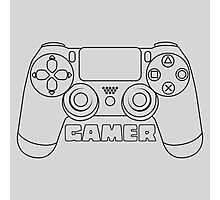 Gamer - black Photographic Print