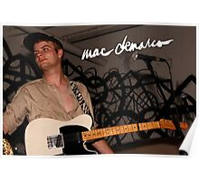 Mac Demarco LIVE Poster