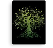 Meditate, Meditation, Spiritual Tree Yoga T-Shirt Canvas Print