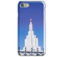 Mormon Temple - Idaho Falls (b) iPhone Case/Skin