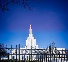 Mormon Temple - Idaho Falls (b) by IMAGETAKERS