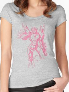 Rodimus sketch Women's Fitted Scoop T-Shirt
