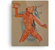 Vajrayogini, the Tibetan Buddhist Dakini Goddess Metal Print
