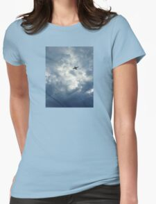 Above and Beyond Womens Fitted T-Shirt