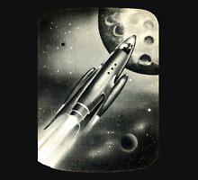 Retro Rocket Scene T-Shirt