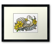 Leave it to Me Framed Print
