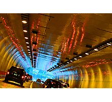 Tunnel Reflections Photographic Print