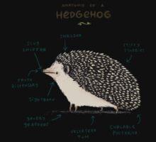 Anatomy of a Hedgehog One Piece - Short Sleeve