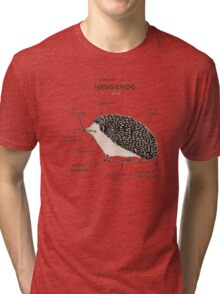 Anatomy of a Hedgehog Tri-blend T-Shirt