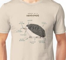 Anatomy of a Hedgehog Unisex T-Shirt